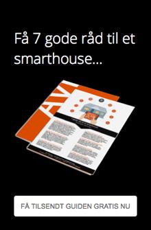 Få gratis smarthouse bolig guide tilsendt pr. mail