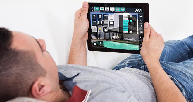 Bolig styring via mobil enheder